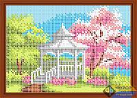 Схема для вышивки бисером - Беседка в саду, Арт. ДБп5-052