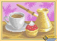 Схема для вышивки бисером - Кофейный натюрморт, Арт. ДБп5-062