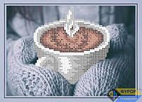 Схема для вышивки бисером - Кружка согревающего кофе, Арт. ДБч5-081