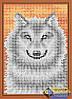 Схема для вышивки бисером - Серый волк, Арт. ДБп5-083