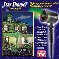 Новорічний проектор зорепад Star Shower Laser Light