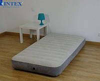Надувные матрасы INTEX 64709 DELUXE SINGLE-HIGH 152х203х25см