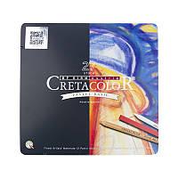 Набор для пастельной живописи Pastel Basic, 27 шт., металлическая коробка, Cretacolor