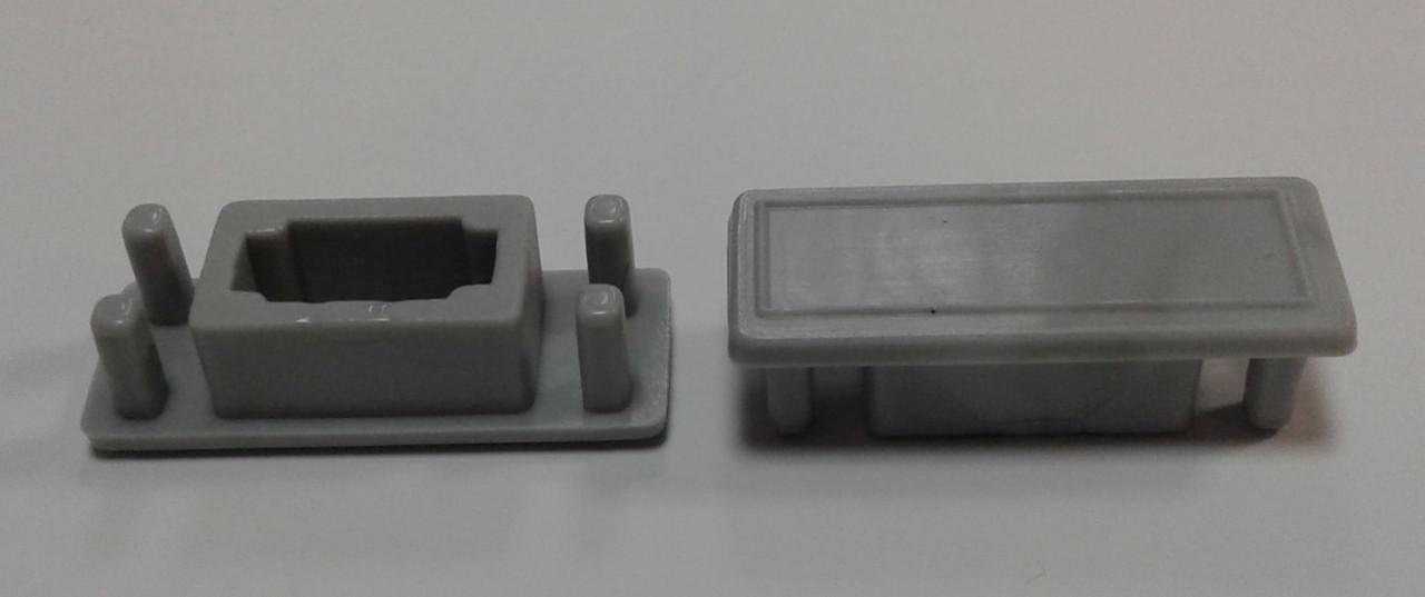 Заглушка торцевая для торгового  профиля. Модель 2576 и 2721