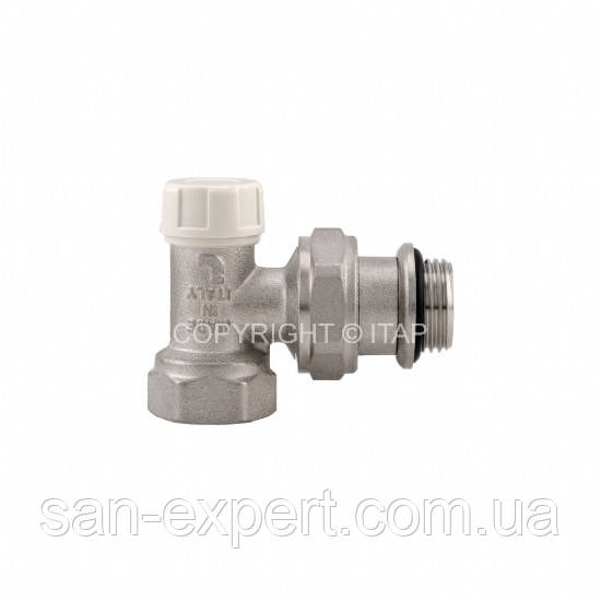 ITAP 396S Кран радиаторный угловой нижний 3/4''