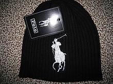 Стильные вязаные шапки в стиле Ральф поло для взрослых и подростков хлопок шапка ралф