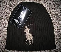 Стильные вязаные шапки Ральф лорен поло для взрослых и подростков хлопок шапка ралф лорен, фото 1