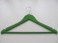 Тремпель (вешалка) для одежды деревянный крашенный
