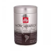 Кофе в зернах Illy Monoarabica Brasil 250 г в банке