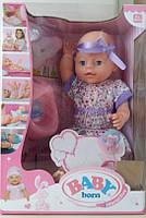 Кукла-пупс Baby Born, 40 см, 6 функций, BL 081 A