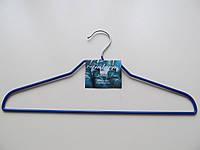 Вешалка (плечики) металлическая c резиновым покрытием, универсальная