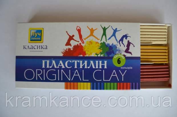 "Пластилин  Луч Украина 6цв. ""Классика"" Ц259012у, фото 2"