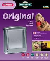 Staywell ОРИГИНАЛ дверцы для котов и собак маленьких пород, серый, 236Х198мм