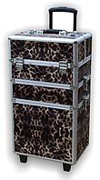 Чемодан на колесах 309 леопард YRE