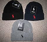 В стиле Ральф вязаные шапки для взрослых и подростков хлопок шапка ралф, фото 2