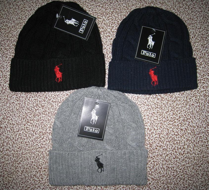 f1e3ef14b396 Стильные вязаные шапки RALPH LAUREN для взрослых и подростков хлопок шапка  ралф лорен