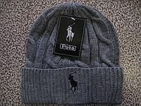 Стильные вязаные шапки RALPH LAUREN для взрослых и подростков хлопок шапка ралф лорен, фото 1