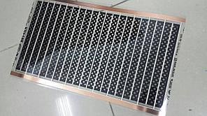 Инфракрасная   термопленка 12V  Один модуль 30х50см  (полностю безопасная )
