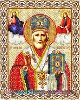 Алмазная вышивка 24х20 Икона Святой Николай