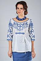 Блуза вишита з льону, фото 1
