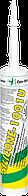 Den Braven SILICONE-1001U 310мл Силиконовый универсальный герметик <белый>