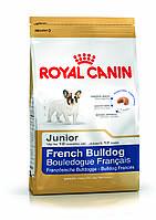 Royal Canin French Bulldog Junior - корм для щенков породы французский бульдог до 12 месяцев 1 кг