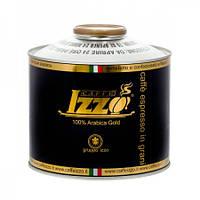 Кофе в зернах Izzo Gold 1 кг в банке