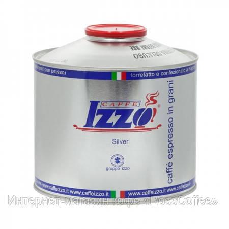 Кофе в зернах Izzo Silver 1 кг в банке