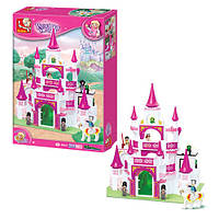 Конструктор «Розовая мечта.Замок принцессы»Sluban M38-B0151, 508 деталей