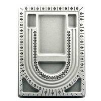 Доска планшет для сборки бус браслетов 32,7х24 см 3 ряда