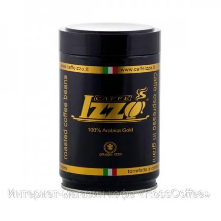 Кофе в зернах Izzo Gold 250 г в банке
