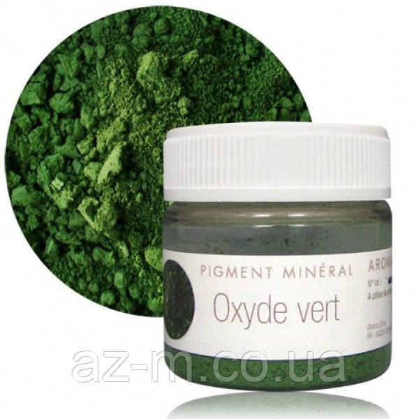 Краситель минеральный Зеленый оксид (Oxyde vert), 10 г