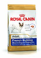 Royal Canin French Bulldog Adult - корм для собак породы французский бульдог с 12 месяцев 3 кг