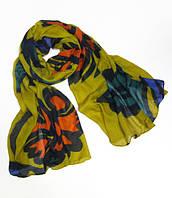 Женский шарфик 180 на 100 dress 494_желт
