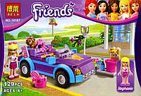 """Конструктор BELA Friends аналог LEGO Friends, """"Машина Оливии"""",  129 дет.,  10167"""