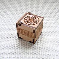 Подарочная коробочка Черное солнце