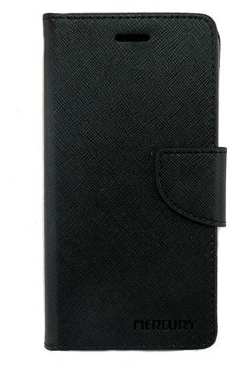 Чехол книжка для Lenovo K6 K33a48 боковой с отсеком для визиток, Mercury GOOSPERY Черный