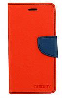 Чехол книжка для Lenovo K6 K33a48 боковой с отсеком для визиток, Mercury GOOSPERY Красный