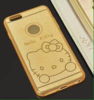 Силиконовый чехол Hello Kitty на айфон 5/5s, 6/6s