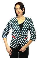 Пиджак женский (в горошек), фото 1