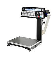 Весы с печатью этикетки Масса-К ВПМ-Т1 с устройством подмотки ленты
