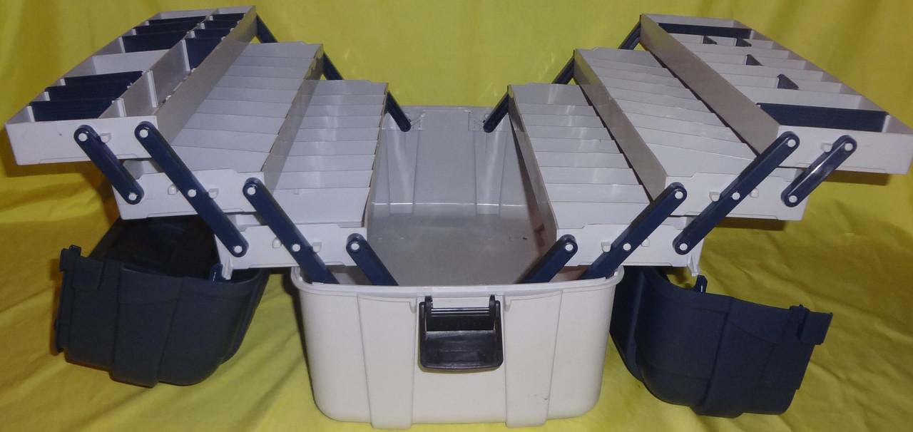 Ящик для снастей Aquatech 2706 6 полочный (шести полочный)