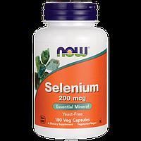 NOW - Selenium 200mcg (180 caps) / Селен