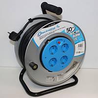 Электрический удлинитель Electraline 49048, 50 м, 3х1,5 мм