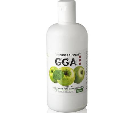 """GGA """"Professional""""  Жидкость для снятия гель-лака и биогеля 500 мл"""