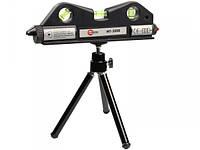 Уровень лазерный мини Intertool MT-3008 на штативе