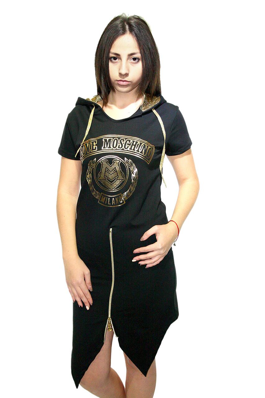 Платье спортивное  Oscar Fur  Т-1  Черный