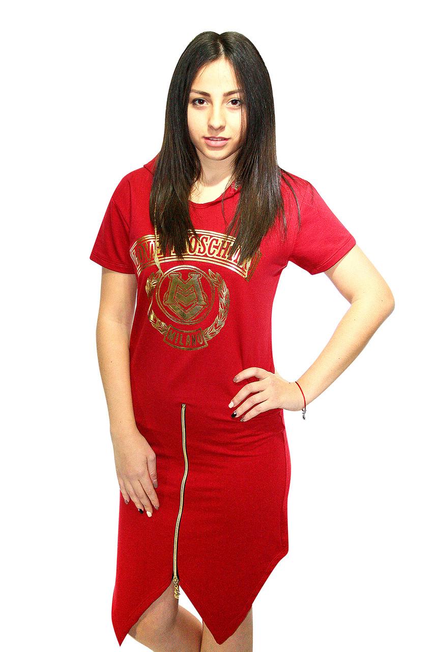 Платье спортивное  Oscar Fur  Т-4  Красный