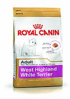 Royal Canin West Highland White Terrier Adult - корм для собак вест-хайленд-уайт-терьер с 10 месяцев 3 кг