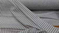 Льняная декоративная ткань для гардин и штор, цвета Льна (шир.260 см)